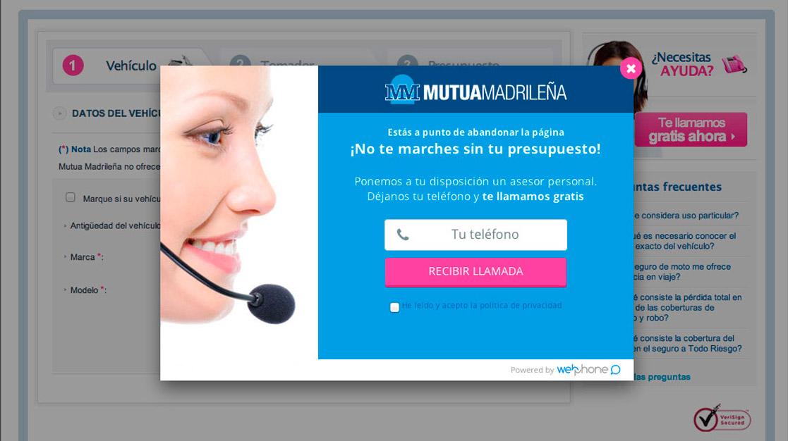 Mutua Madrileña: Cómo mejoramos su conversión online