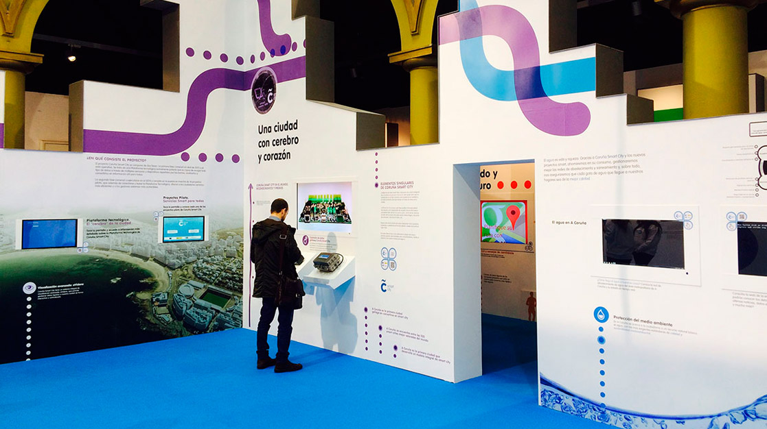 Smartpantallas para una ciudad inteligente